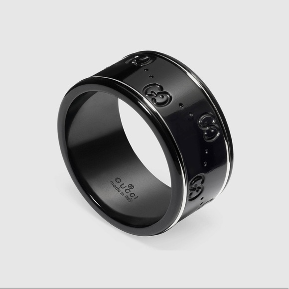 4319d81dd Gucci Jewelry | 18k White Gold And Black Ring | Poshmark